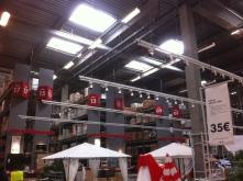 Spot Led suspendu IKEA