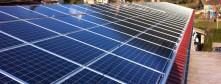 Toiture solaire photovoltaïque intégration bâtie