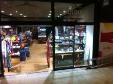 Eclairage vitrine boutique Cuisine plaisir